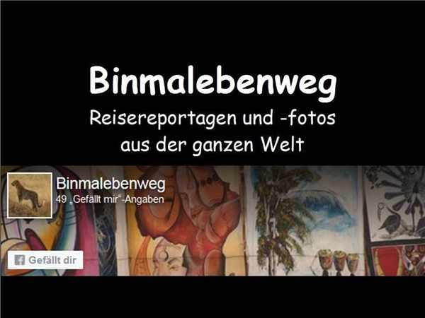 Zur Mutter aller Homepages www.binmalebenweg.de